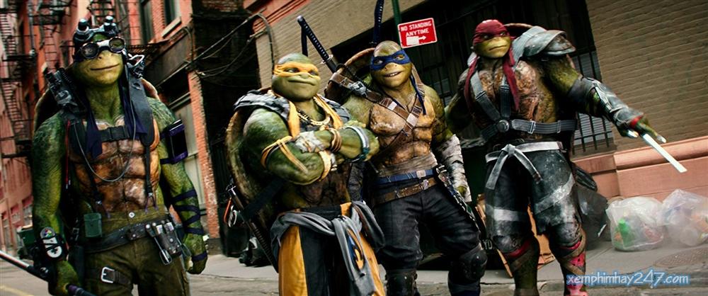 http://xemphimhay247.com - Xem phim hay 247 - Ninja Rùa 2: Đập Tan Bóng Tối (2016) - Teenage Mutant Ninja Turtles 2: Out Of The Shadows (2016)