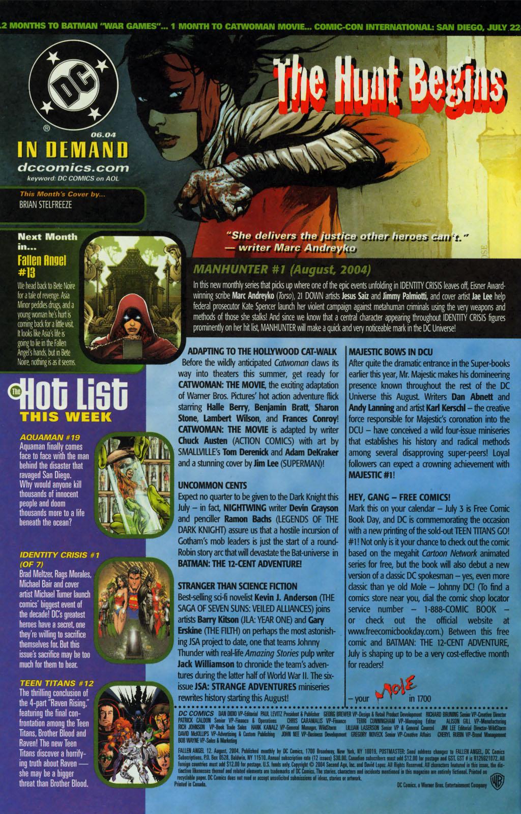 Read online Fallen Angel (2003) comic -  Issue #12 - 24