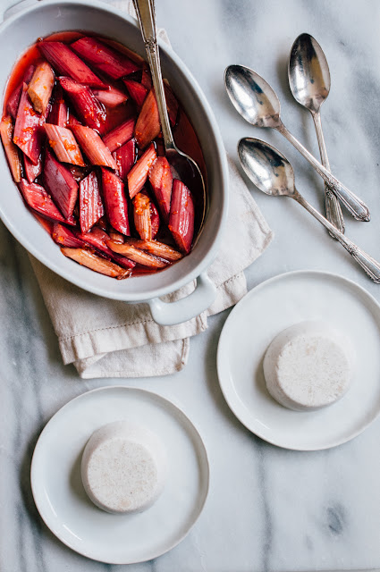 Panna Cotta with Roasted Rhubarb (AIP & Paleo)
