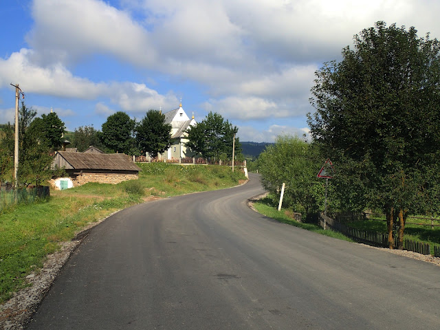 Droga Borynia-Libuchora w lipcu 2017