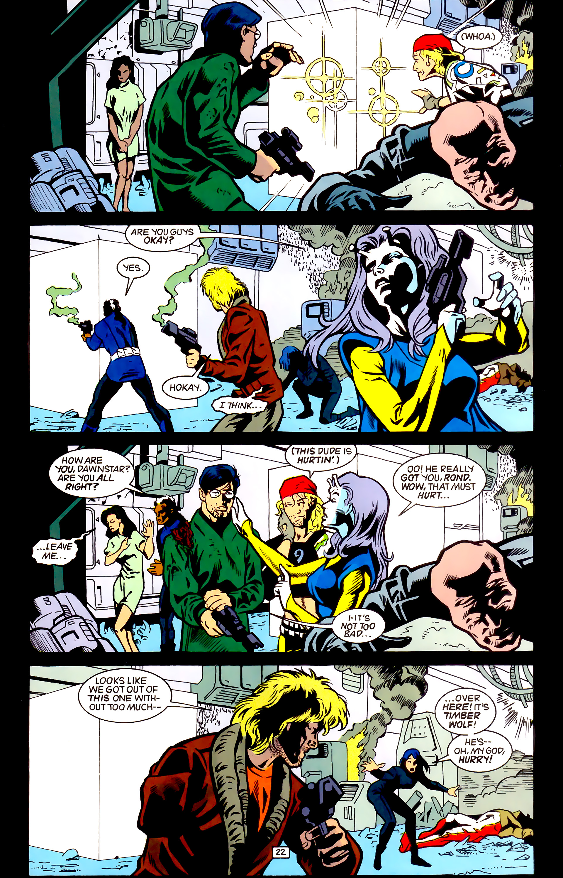 Legion of Super-Heroes (1989) _Annual_4 Page 22