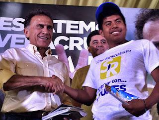 PRI alarmado por el evidente repudio de Veracruz, sabe que es imposible su triunfo