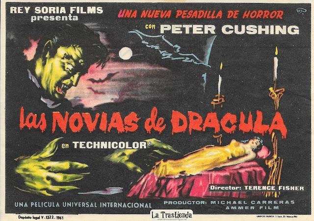 Las Novias de Drácula - Programa de Cine - Peter Cushing - Yvonne Monlaur