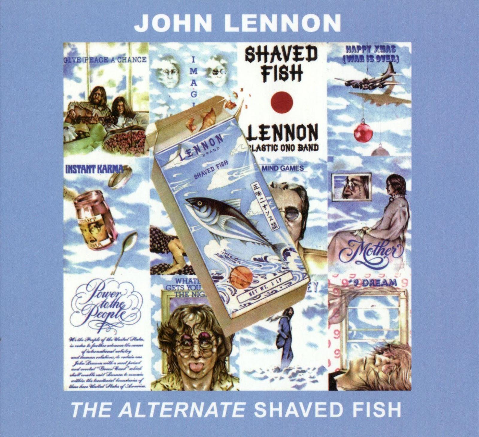 Unholy reliquary john lennon the alternate shaved fish for John lennon shaved fish