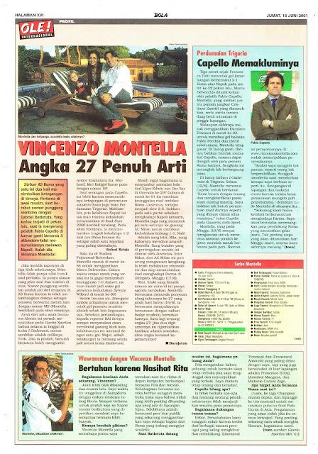 VINCENZO MONTELLA PROFILE