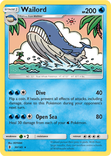 Wailord Guardians Rising Pokemon Card