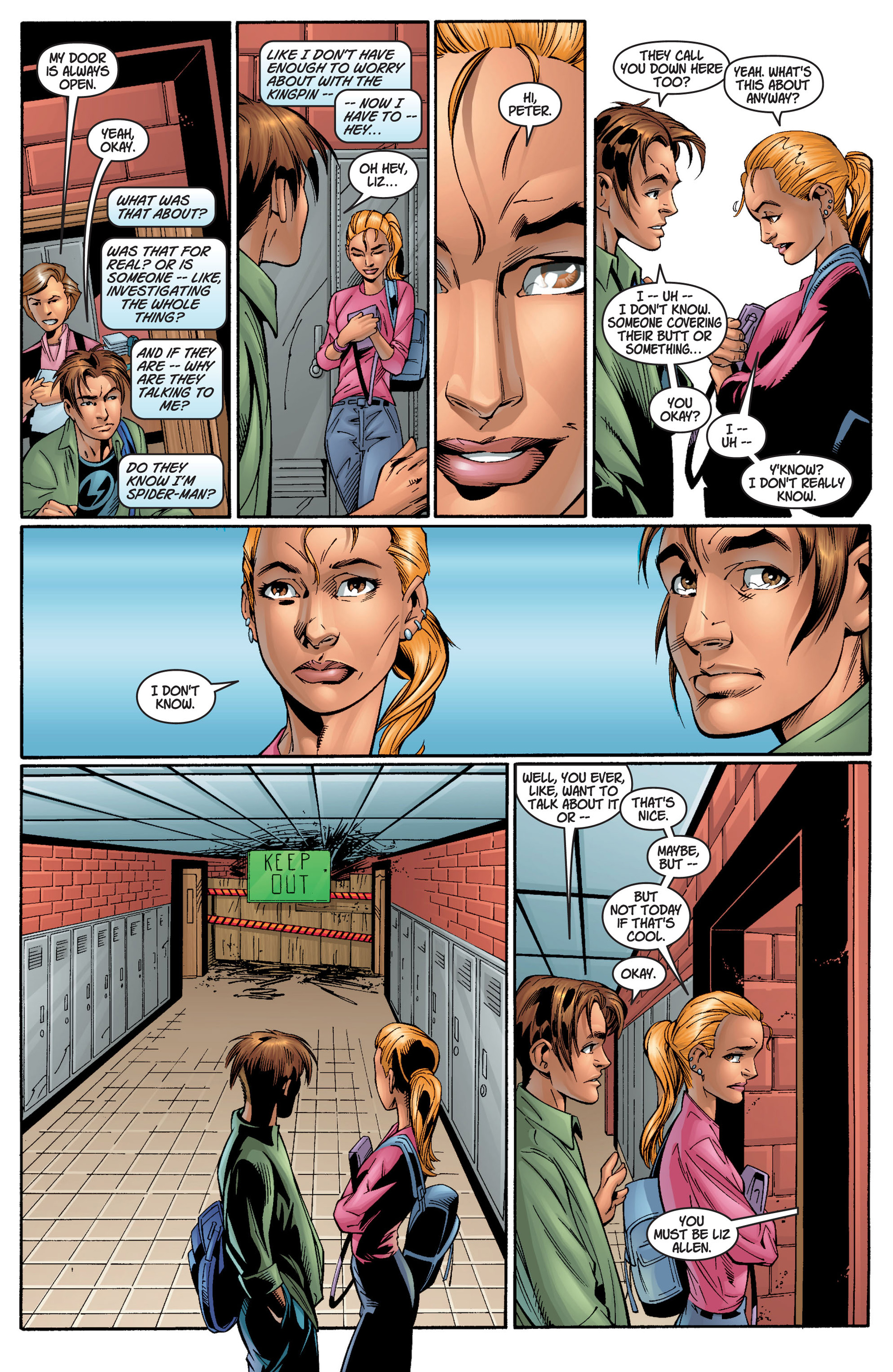 Read online Ultimate Spider-Man (2000) comic -  Issue #11 - 7