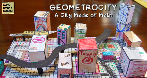 I love Projects  Geometrocity, the City Made of Math