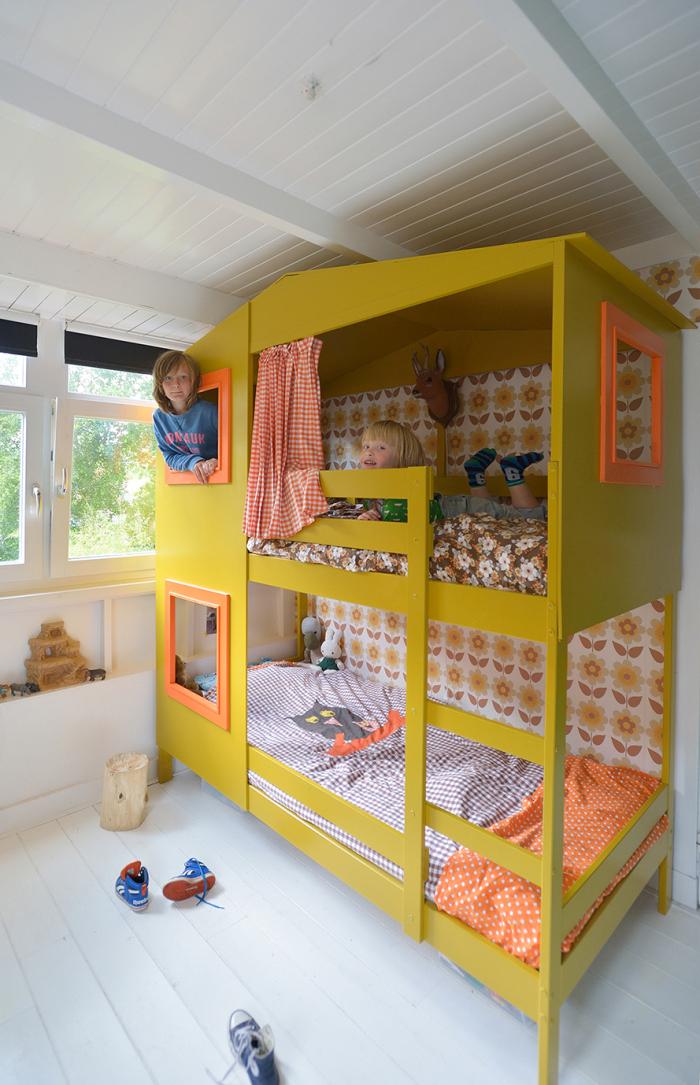 Rafa Kids Yellow Bunk Bed Amp Studio Soet