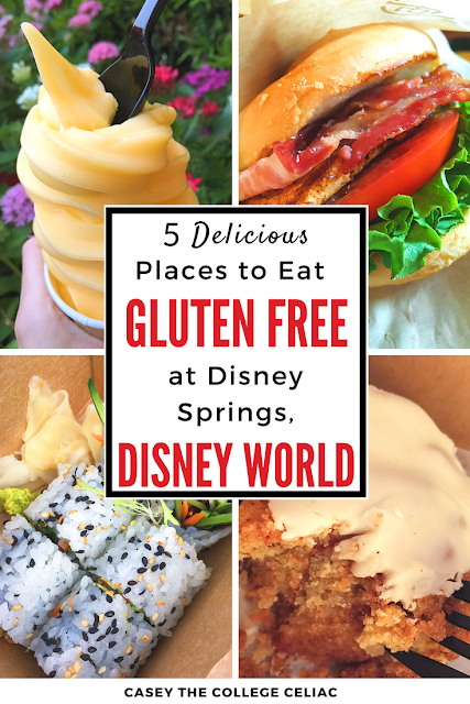 5 Delicious Places To Eat Gluten Free At Disney Springs