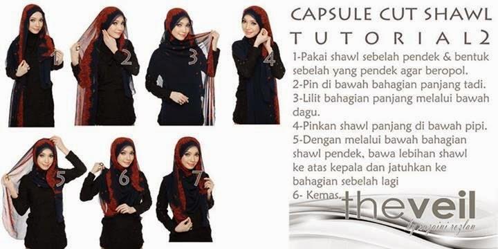 tutorial capsule cut shawl