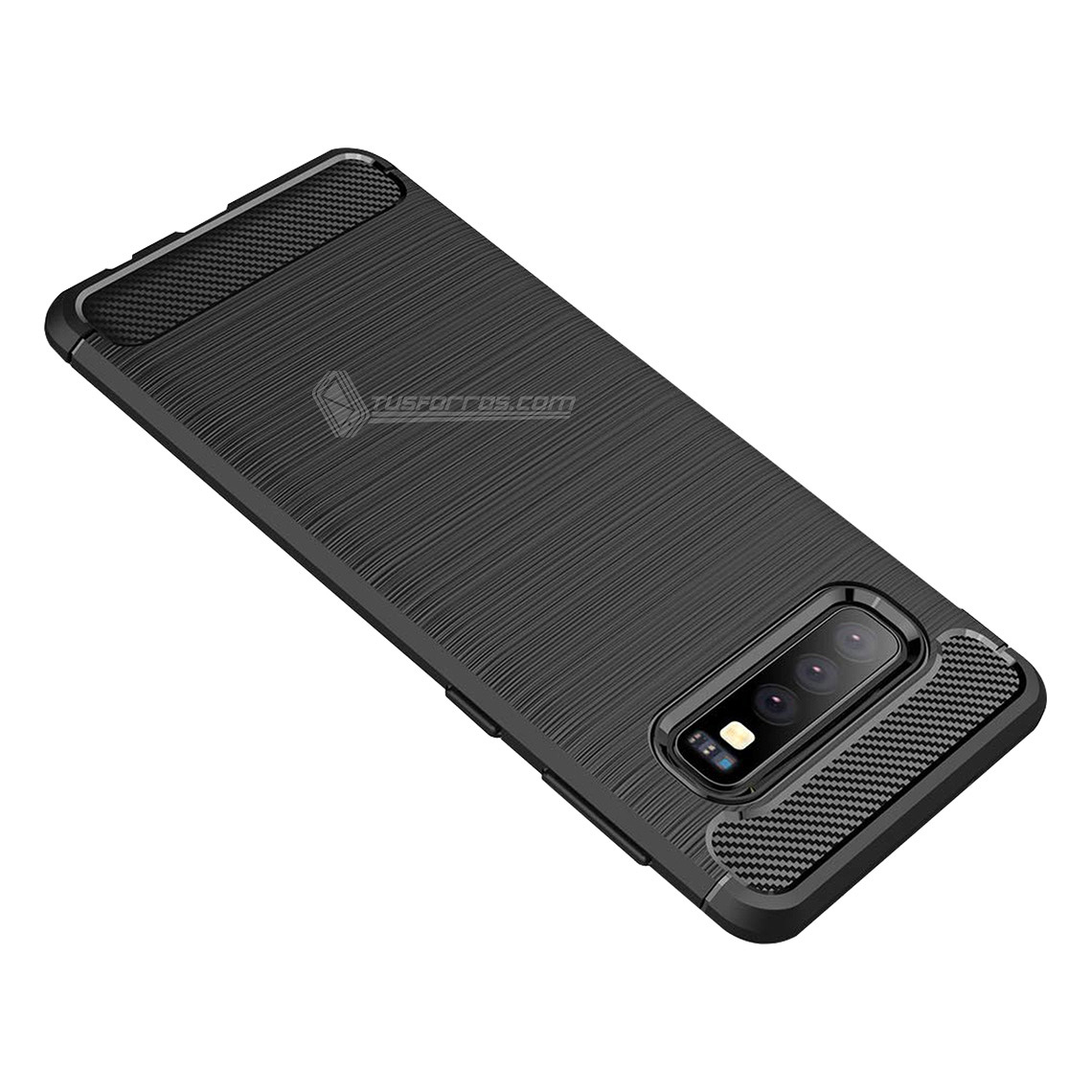 Samsung Galaxy S10 Forro Fibra De Carbono Anti-Shock Máxima Protección