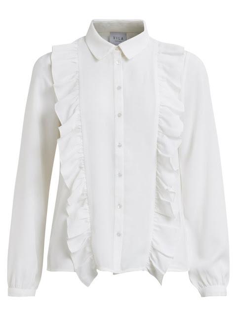 camicia bianca particolare