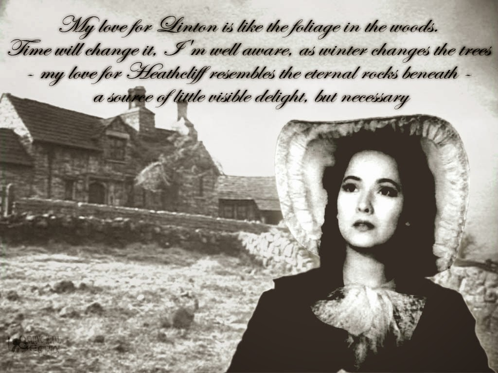 the love between catherine and heathcliff in brontes wuthering heights Symbolism in emily brontë's wuthering heights  ultimately, heathcliff and  cathy's love of roaming the moors reflects their rejection of heaven and choice of .