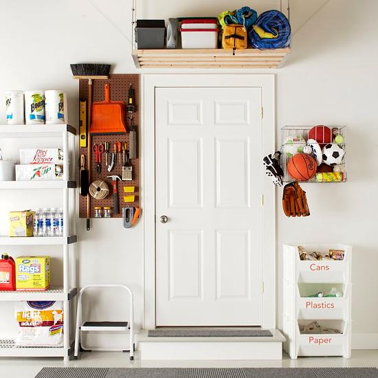 Garage Interior Design Ideas: New Home Interior Design: Ideas For Garage Organization