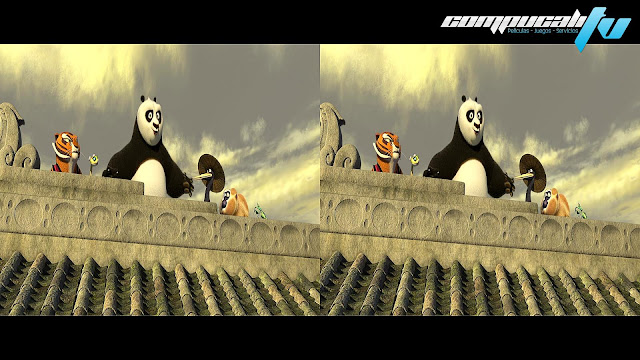 Kung Fu Panda 2 3D SBS Latino