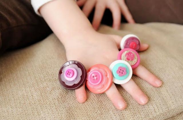 Kids Fun Button Crafts