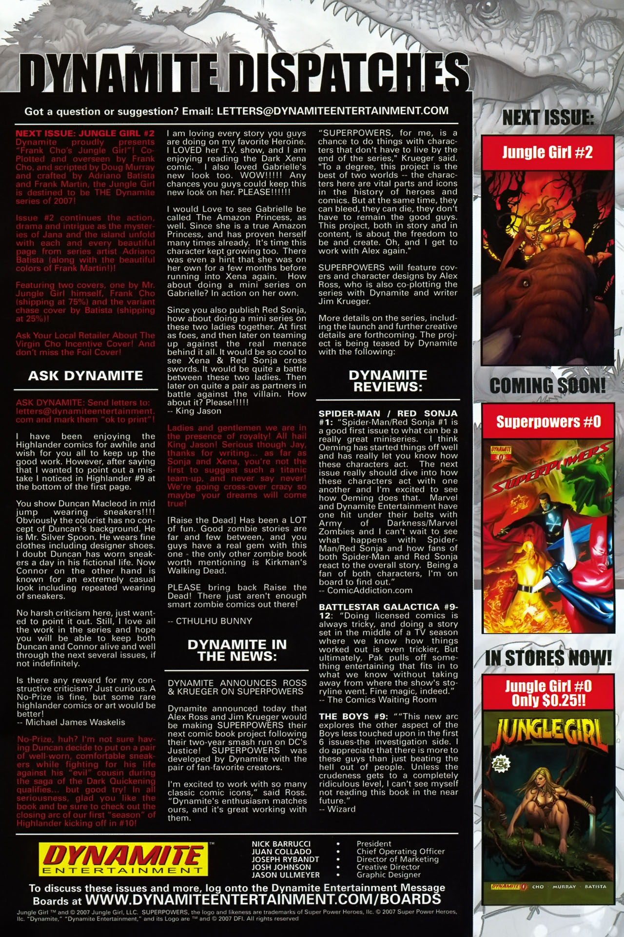Read online Jungle Girl comic -  Issue #1 - 26