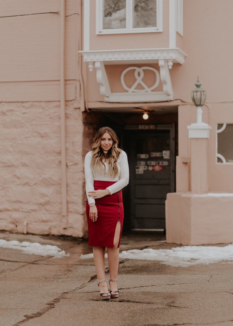 slit skirt, popular influencer, instagrammer