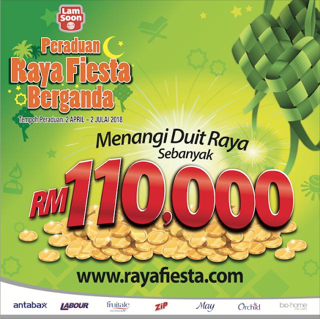 Menangi RM110,000 Duit Raya dengan Lam Soon's Raya Fiesta Berganda Contest