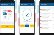 Convert web to PDF: aplicación que permite convertir páginas web a documentos PDF en Android