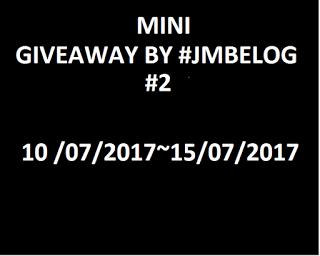 MINI GIVEAWAY BY #JMBELOG #2