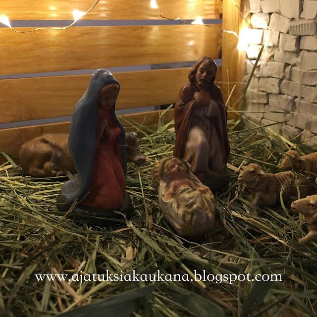 jouluseimi, tallissa, Jeesus-lapsi