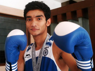 Boxing Indian Athlete at Summer Olympics 2016