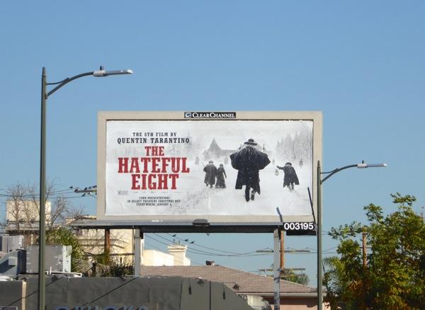 Hateful Eight movie billboard