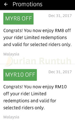 Uber Promo Code Malaysia 2017 Discount Offer