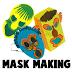 Manualidades máscaras para Halloween y Carnaval