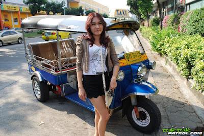 TukTukPatrol 020 – Kim – Sexy Thai girl eager for big white cock
