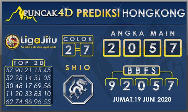 PREDIKSI TOGEL HONGKONG PUNCAK4D 19 JUNI 2020
