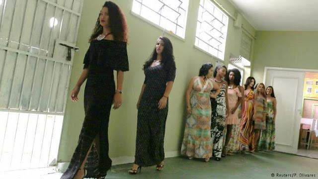 जेल मे महिला ब्यूटी कांटेस्ट 100 से अधिक महिलाए होती है शामिल