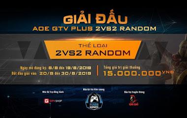 [AoE] Giải đấu AoE GTV Plus 2v2 Random chính thức bố danh sách và lịch thi đấu