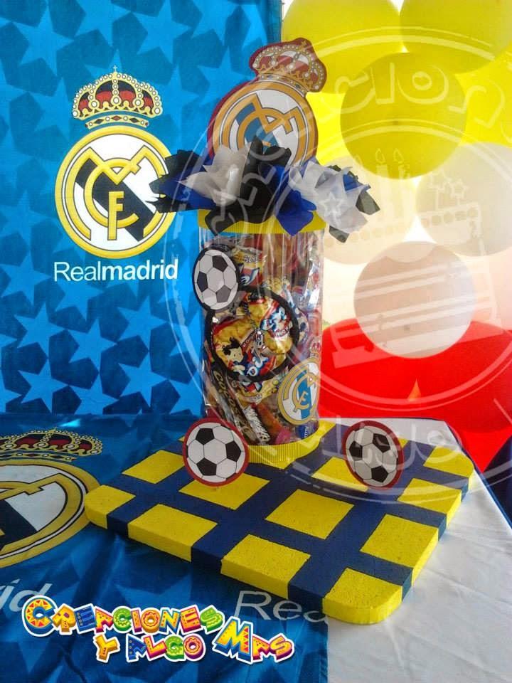 fiesta motivo real madrid real madrid party creaciones