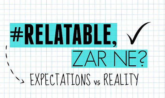 Marized: #Relatable, zar ne?: Expectations vs Reality