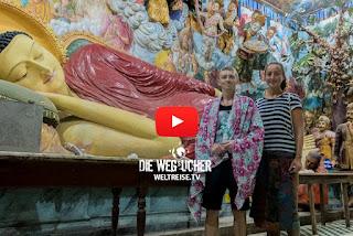 Angurukaramulla Temple in Negombo, Sri Lanka, Weltreise
