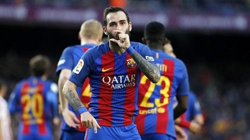 Barca đã đạt được thỏa thuận chiêu mộ Aleix Vidal từ Sevilla