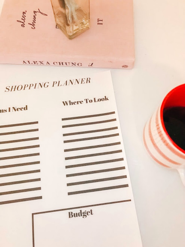 Shop With A Purpose (Get the FREE Planner Worksheet!)