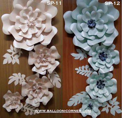 Paper Flower / Bunga Kertas (Paket SP-11 & Paket SP-12)