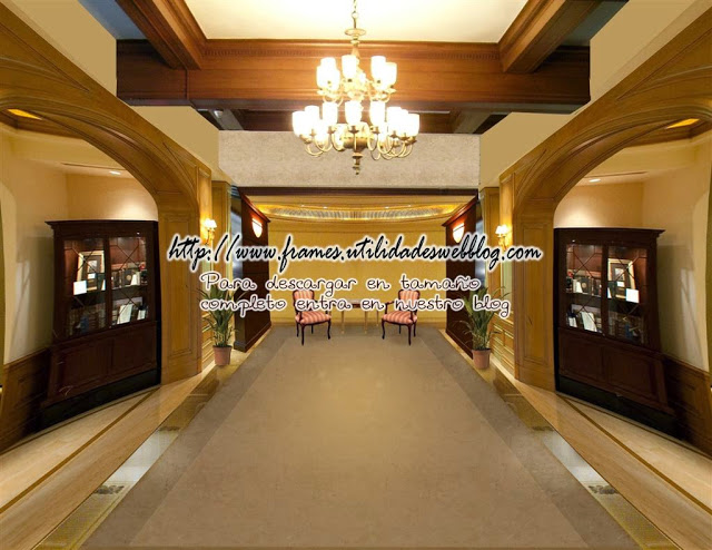 Fondo de Lobby de hotel para hacer fotomontajes ceativos