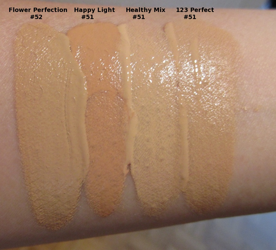 Rouge Deluxe Bourjois Happy Light Foundation And Java