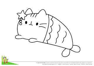 Katoto Drawing Tutorial Langkah Menggambar Dan Mewarnai Mermaid