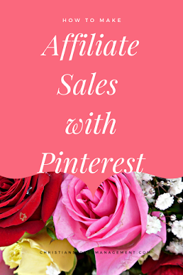 How to make affiliate sales with Pinterest