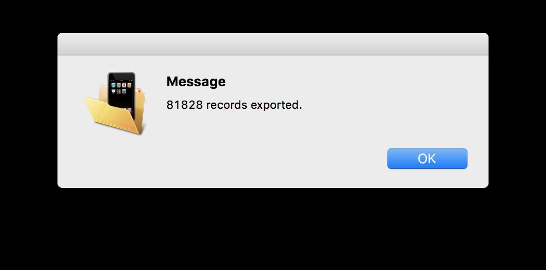 Come esportare SMS e iMessage da iOS