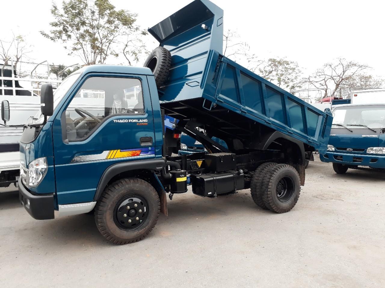 Xe ben Thaco Fld345D tải trọng 3.5 tấn tại Hải Phòng hỗ trợ trả góp