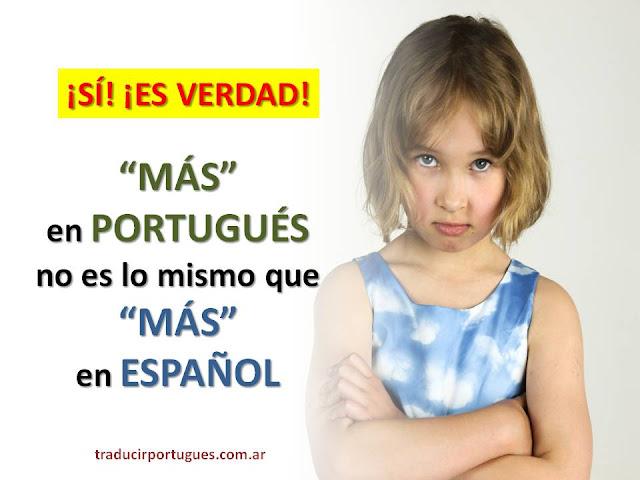 FALSOS AMIGOS ESPAÑOL-PORTUGUÉS