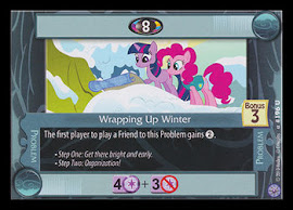 My Little Pony Wrapping Up Winter Premiere CCG Card