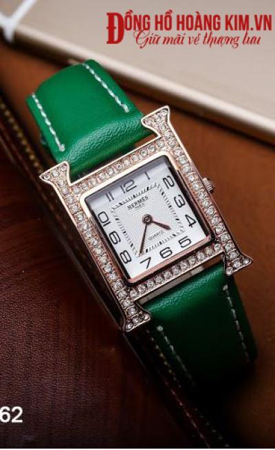 mua đồng hồ nữ dây da đẹp giá rẻ
